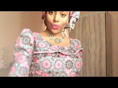 Get Ready with Me - HAUSA head tie & pretty dress 💕🇳🇬