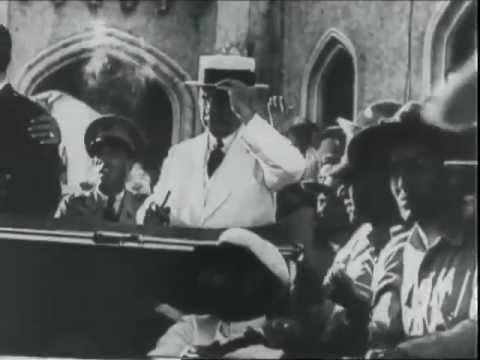 Llave de la Ciudad de la Habana a Barberán y Collar en 1933 Cuba