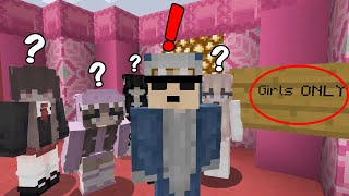 So I Joined a GIRLS only Minecraft Server...