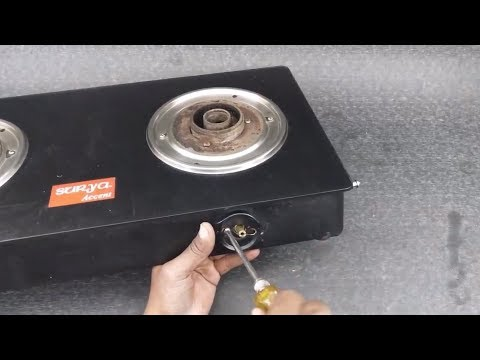 How to service gas stove at home | DM