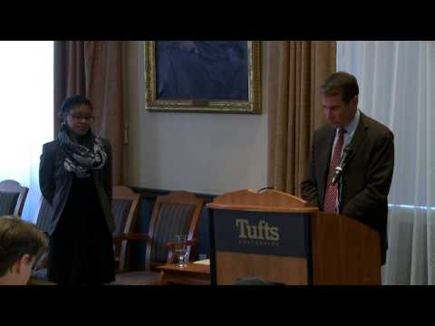 Thumbnail for video: Friedman Student Alison Brown Wins the 2014 Tufts University's Presidential Award