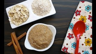 Oatmeal Cereal - Homemade Baby Food - Weelicious