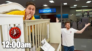 MIDNIGHT HIDE AND SEEK AT WALMART!