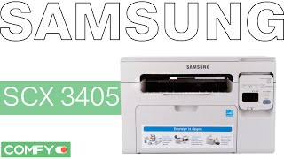 Видеодемонстрация МФУ Samsung SCX 3405