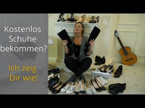 Kostenlos Schuhe bekommen durch Empfehlungen | tessamino