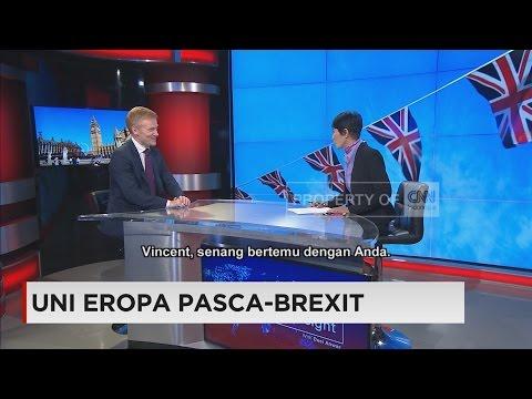 EU Ambassador Vincent Guérend talks about Brexit on CNN Indonesia