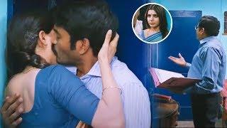Dhanush, Samantha, Amy Jackson Super Hit Movie Part -4   Nava Manmadhudu   Vendithera