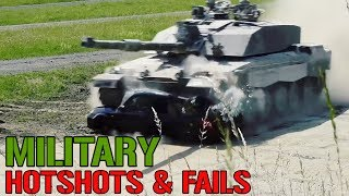 Miltary Hotshots and Fails Compilation || Funny Videos
