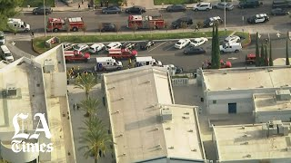 Two students were killed and three other teens were wounded in a shooting at Saugus High School in Santa Clarita on Thursday morning, authorities said.  SUBSCRIBE FOR MORE VIDEOS AND NEWS http://www.youtube.com/subscription_center?add_user=losangelestimes https://www.latimes.com/subscription  LET'S CONNECT: Facebook ► https://www.facebook.com/latimes Twitter ► https://twitter.com/LATimes Instagram ► https://www.instagram.com/latimes