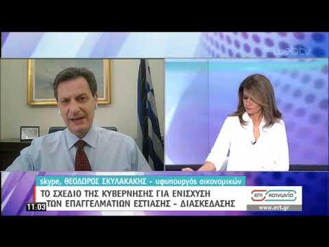 Ο Υφυπουργός Οικονομικών Θ.Σκυλακάκης στην ΕΡΤ | 06/05/2020 | ΕΡΤ