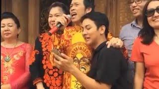 NSUT Hoài Linh và Hoài Lâm ca vọng cổ Đời Nghệ Sĩ trong lễ khánh thành Nhà thờ Tổ