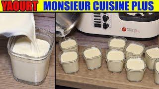 Yaourt Monsieur Cuisine Edition Plus Thermomix Recette Maison Yogurt Joghurt