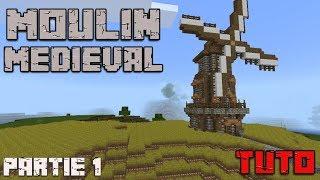 Minecraft Tuto Moulin Médiéval 2 самые лучшие видео