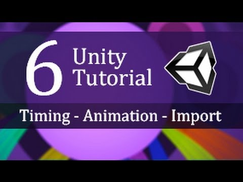 6.  Timing, Animation and Importing