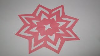 how to make simpleeasy paper cutting flower designsdiy paper cut out tutorial step by