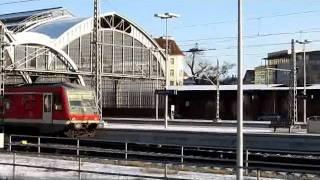 preview picture of video 'Züge Lübeck Hauptbahnhof  Teil 1 30.01.2012'