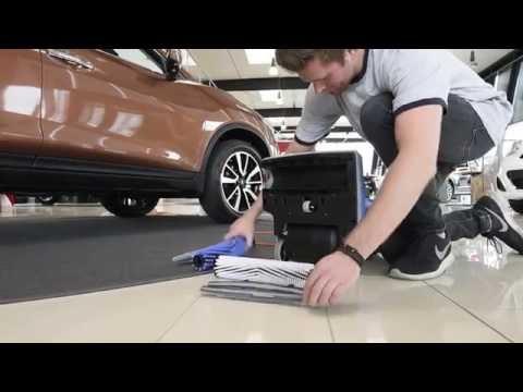 NILFISK SCRUBTEC 130 E Kompakte Scheuersaugmaschine, perfekte Reinigung in einem Arbeitsgang