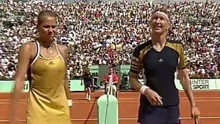Steffi Graf Vs Anna Kournikova 1999 Roland Garros Highlights