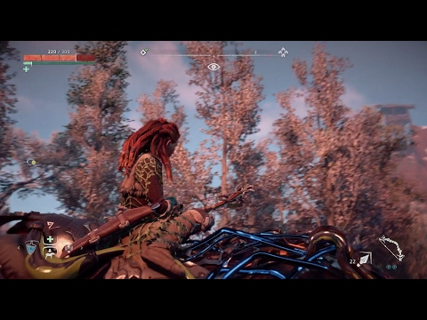 I'm Just Saying, Look At How Horizon's Protagonist Turns Around On Horseback