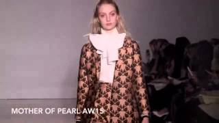 Mother of Pearl AW15 at London Fashion Week