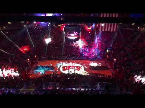 Epson and 4Wall Light Up UNLV Pregame