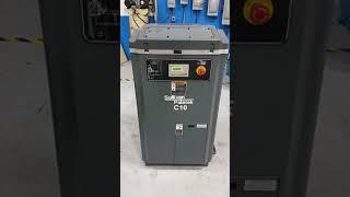 Used Sullivan Palatek C10 10 HP Rotary Screw Air Compressor