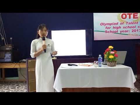 Thi OTE THPT Trần Phú Thí Sinh Mai Phương
