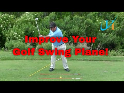Fix Your Golf Swing Plane with the 45° Stick Drill