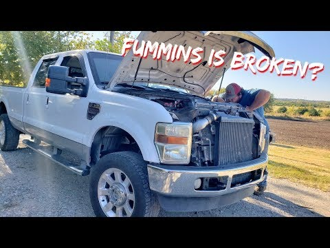 Our F350 Cummins is Broken + Project Update