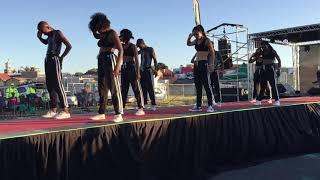 Yanga Sobetwa, Unathi Nkayi, Somizi Mhlongo & Gugulethu United We Stand Dancers