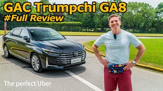 What if China made a Toyota Avalon? Meet the GAC Trumpchi GA8