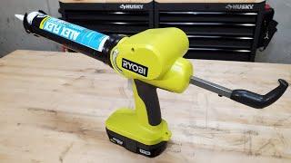 Ryobi 18V One+ Cordless Caulk and Adhesive Gun Review