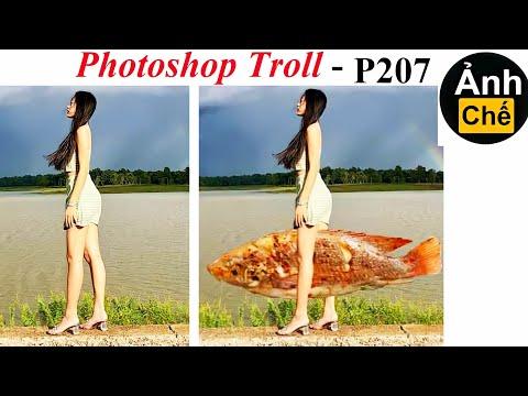 Ảnh Chế  💓 Photoshop Troll (P 207), James Fridman, trend cá bơi quanh người