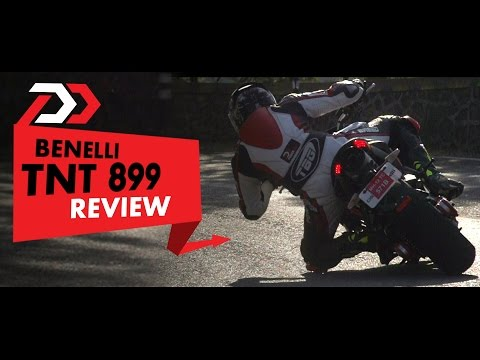 DSK Benelli TNT 899 Review l PowerDrift