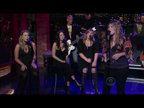 [HD] Kelly Clarkson- Already Gone (Live At Late Show With David Letterman 07/13/2009)