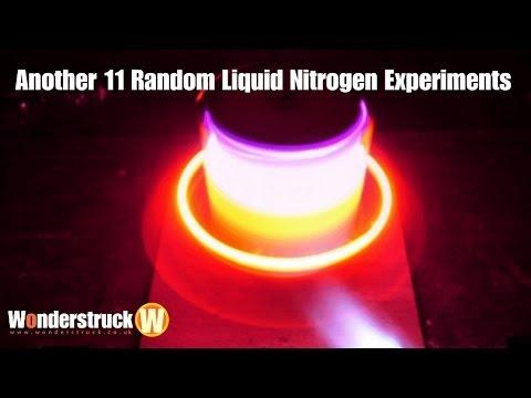 Another 11 Random Liquid Nitrogen Experiments