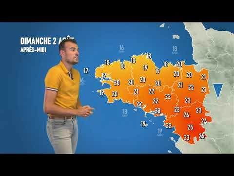 Illustration de l'actualité La météo pour votre dimanche 2 août 2020