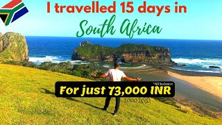 South Africa Travel Vlog In Hindi | India To South Africa Travel | Africa On A Budget