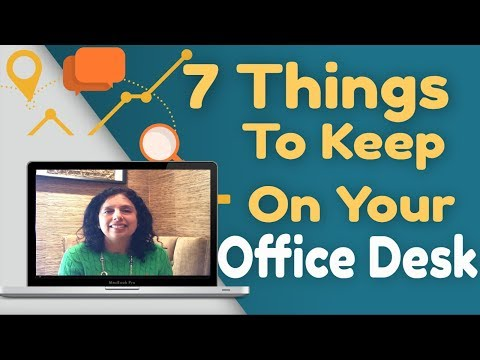 7 Things To Keep On Your Office Desk - Vaastu Tips for Work Desk | Jaya Karamchandani