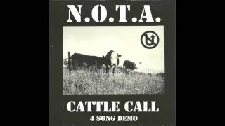 N.O.T.A. Cattle Call 4-Song Demo