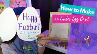 Spread Kindess: How to Make an Easter Egg Card with Artsy Rose