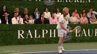Boris Becker: Tips on The Perfect Serve