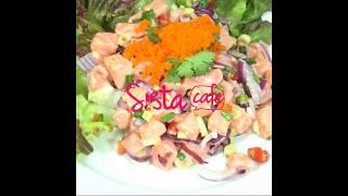 SistaCafe Channel : วิธีทำยำแซลม่อน
