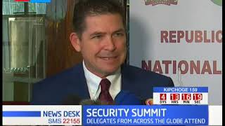 Delegates from across the globe attend security summit