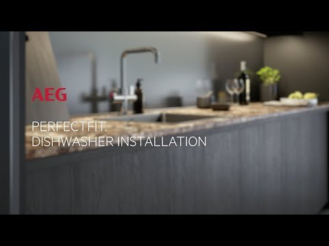 AEG Built In 60 Cm Dishwasher Fully FSS63607P - Fully Integrated Video 4