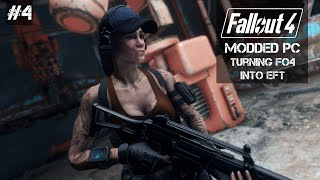Turning Fallout 4 into a Escape From Tarkov - PC Modded Fallout 4 - Episode 4 - Building the Hideout