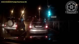 Авария на Горной в Калининграде. Июль 2017 года
