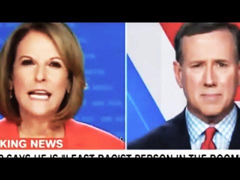 Santorum Gets Slippery On Trump's Past