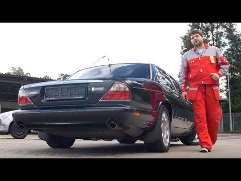 Немолодой, но роскошный Jaguar XJ   Подержанные автомобили