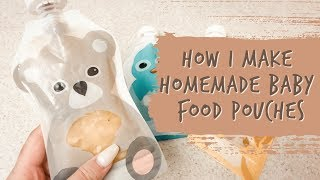Homemade Baby Food Pouches - 25 Meals Under $10 | LOVE BY LAUR ♡